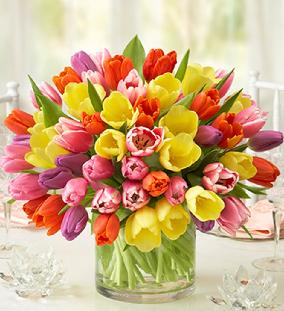 Tulip flower arrangements rancho sante fe tulip floral arrangements delivery conditions reward points meaning of roses mightylinksfo
