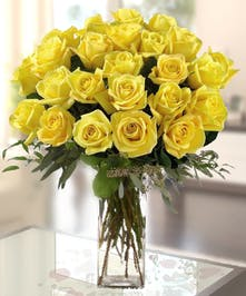 Yellow Roses by Allen's Flowers