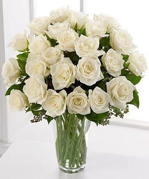 White Roses by Allen's Flowers