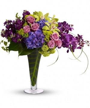 Orchids and Hydrangea Floral Arrangements, Florist Rancho Santa Fe