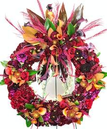 Sympathy Wreath Flower Arrangements, Florist San Diego