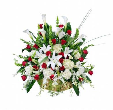 Sympathy Flower Baskets, Florist San Diego