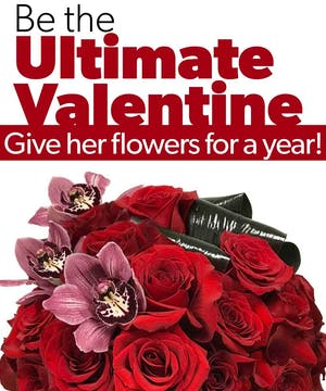 Ultimate Valentine: Flowers for a Year!