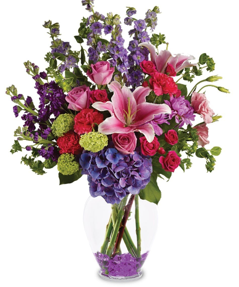Stargazers And Spring Flowers Garden Celebration Allens Flowers