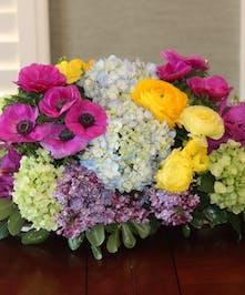 Garden Spring Centerpiece, San Diego Florist