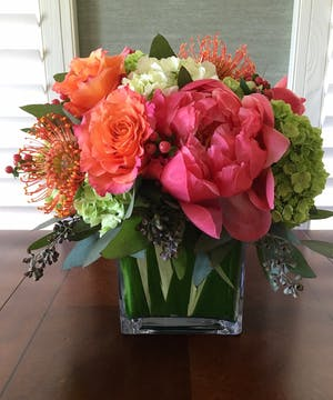 Peony Flower Arrangements, Florist San Diego