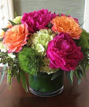 Allen's Peony Flower Arrangements, Florist San Diego