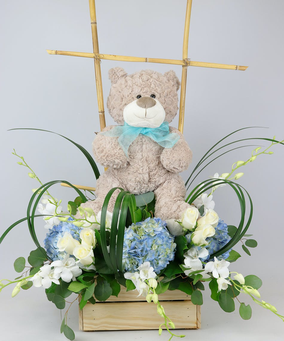 Baby boy crate voted best florist in san diego san diego ca baby boy crate voted best florist in san diego san diego ca flowers same day flower delivery izmirmasajfo