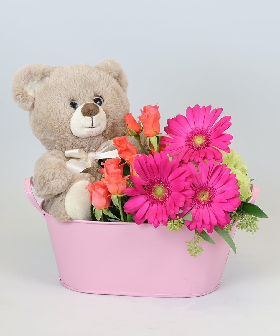 Baby Girl Tub - Voted Best Florist In San Diego | San Diego CA ...