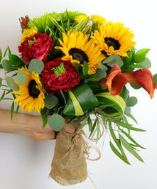 Garden Sun (Hand-Tie Bouquet)