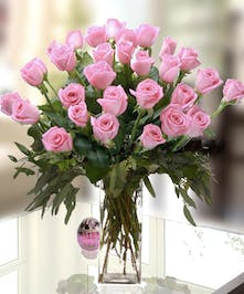 Light Pink Roses by Allen's Flowers