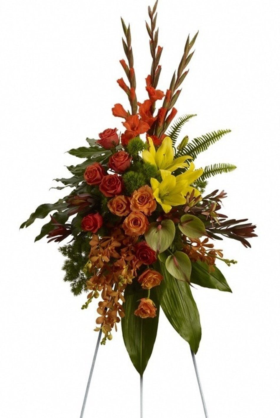 Tropical Tribute Spray Voted Best Florist In San
