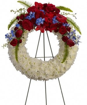 Patriot Wreath