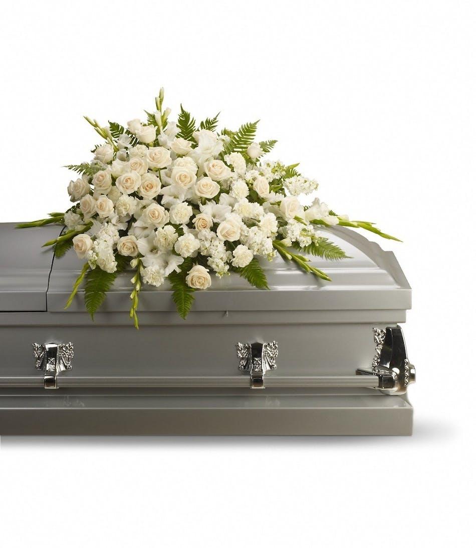 Purity casket spray voted best florist in san diego san diego ca purity casket spray voted best florist in san diego san diego ca flowers same day flower delivery izmirmasajfo