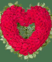 Sympathy Standing Rose Spray, Florist San Diego