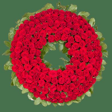 Sympathy Standing Wreath Spray, Florist San Diego