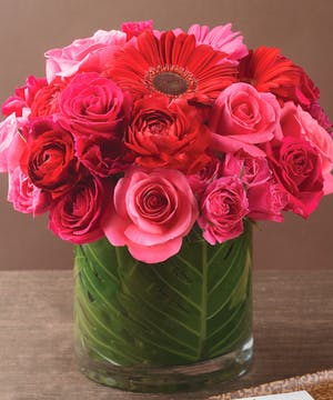 Pink Rose Arrangement, La Mesa Florist