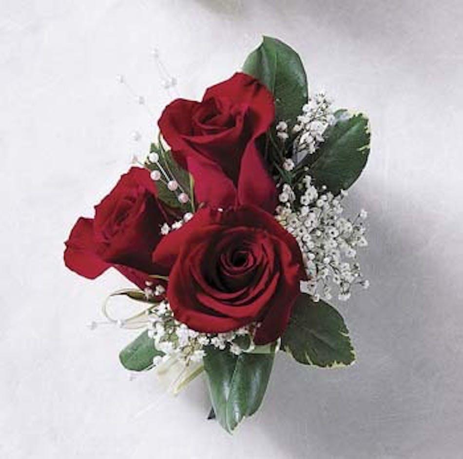 Corsage Red Rose Voted Best Florist In San Diego San Diego Ca