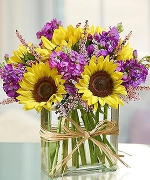 Sunflowers and Stock Floral Arrangements, Florist Poway