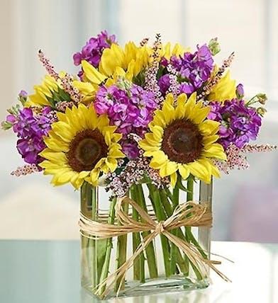 Sunflowers and Stock Floral Arrangements, Florist Poway