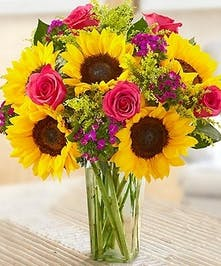 Sunflower Lovers Bouquet'