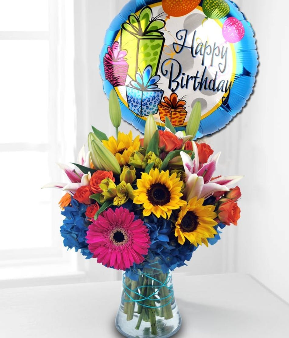 San diego gerber daisies san diego sunflowers san diego lilies sunflower and hydrangea floral arrangements florist san diego available for nationwide delivery izmirmasajfo