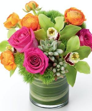 Succulent Flower Arrangements, Florist San Diego