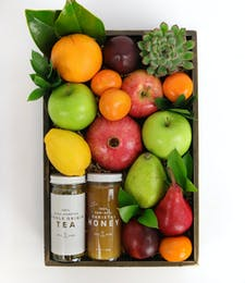 Fruit, Honey, & Tea Crate