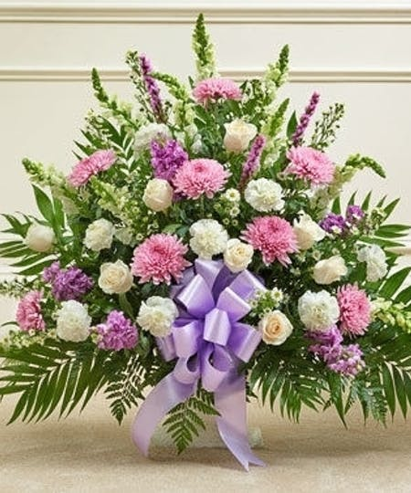 Funeral Flowers For A Woman